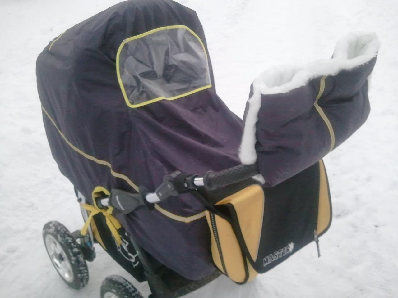 Как сшить дождевик на прогулочную коляску 60